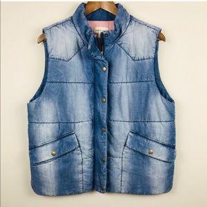 Anthropologie Puffy vest